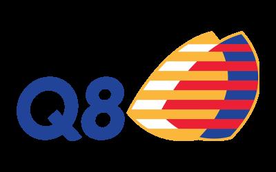 Centro Commerciale AlBattente Logo Q8