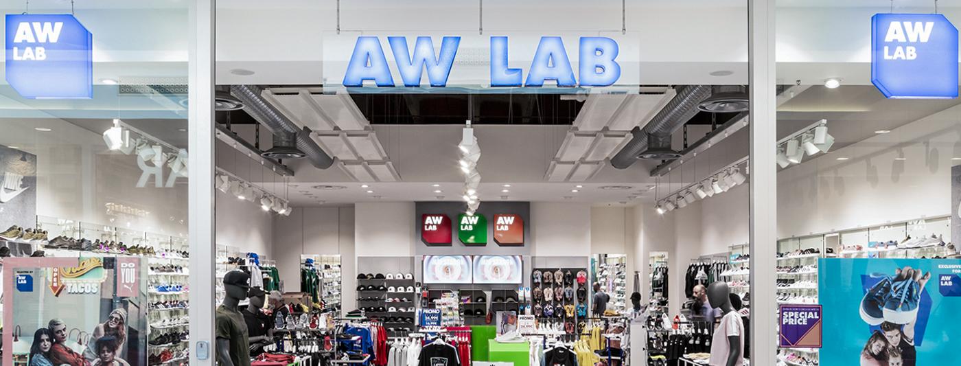 Centro Commerciale AlBattente TESTATA negozio AWLab
