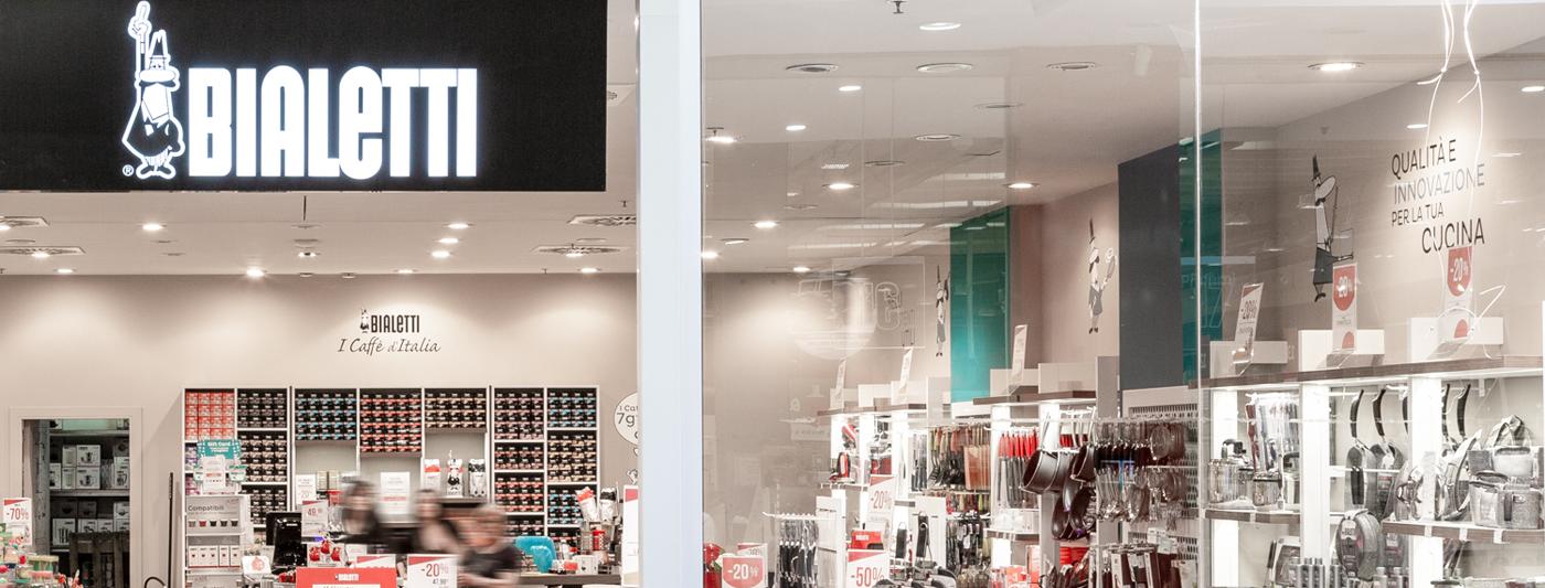 Centro Commerciale AlBattente TESTATA negozio Bialetti