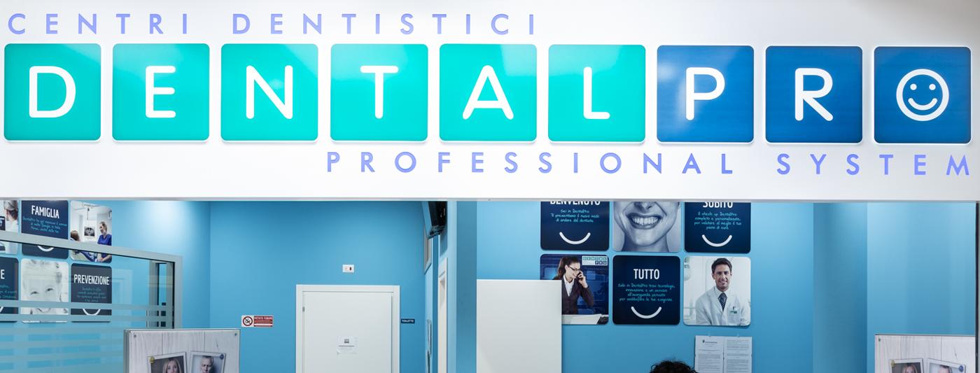 Centro Commerciale AlBattente TESTATA negozio Dental Pro