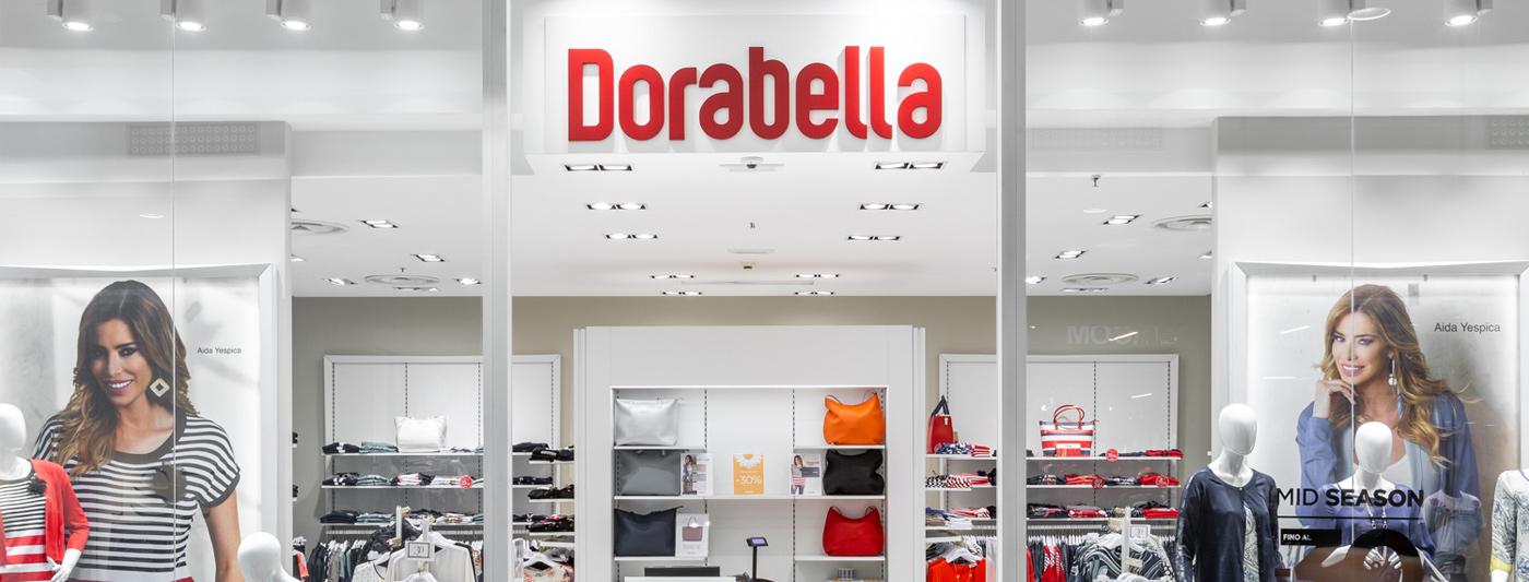 Centro Commerciale AlBattente TESTATA negozio Dorabella