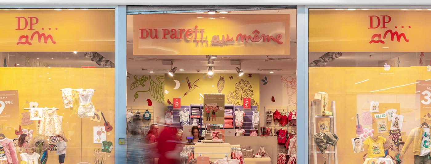 Centro Commerciale AlBattente TESTATA negozio DuPareilAuMeme