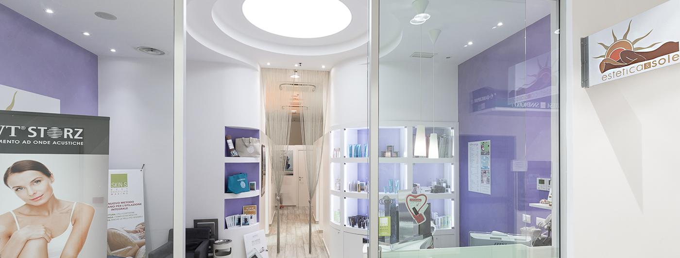 Centro Commerciale AlBattente TESTATA negozio Estetica e Sole