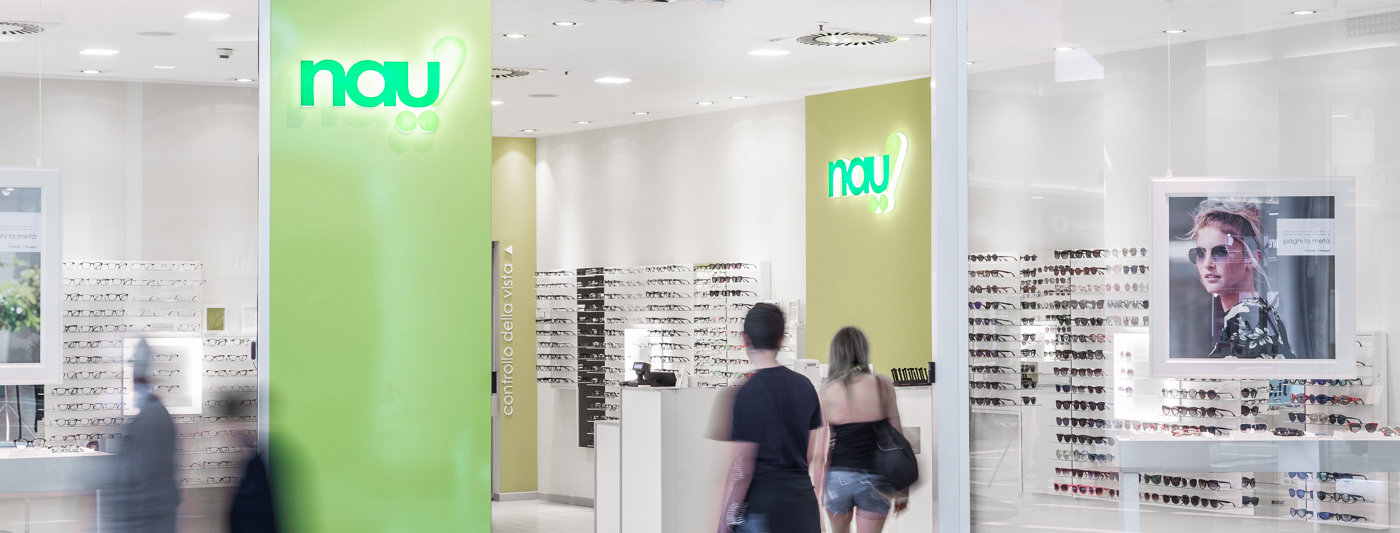 Centro Commerciale AlBattente TESTATA negozio Nau