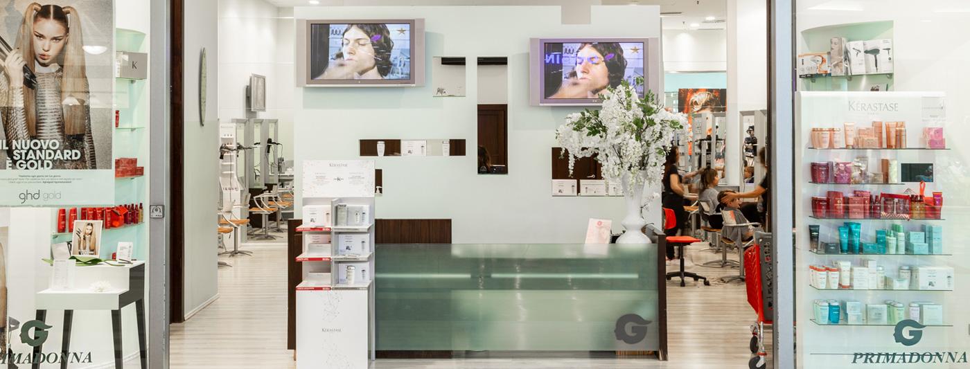 Centro Commerciale AlBattente TESTATA negozio Primadonna