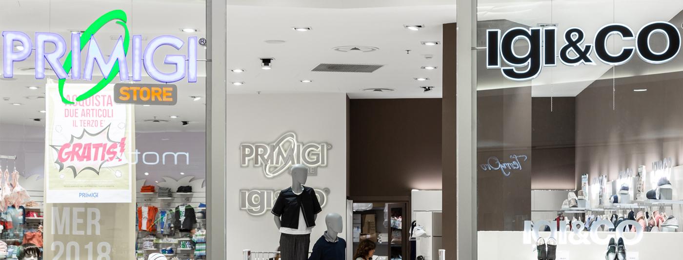 Centro Commerciale AlBattente TESTATA negozio Primigi