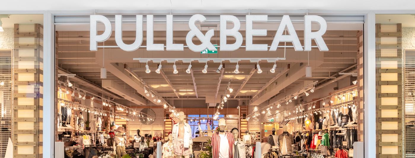 Centro Commerciale AlBattente TESTATA negozio PullAndBear