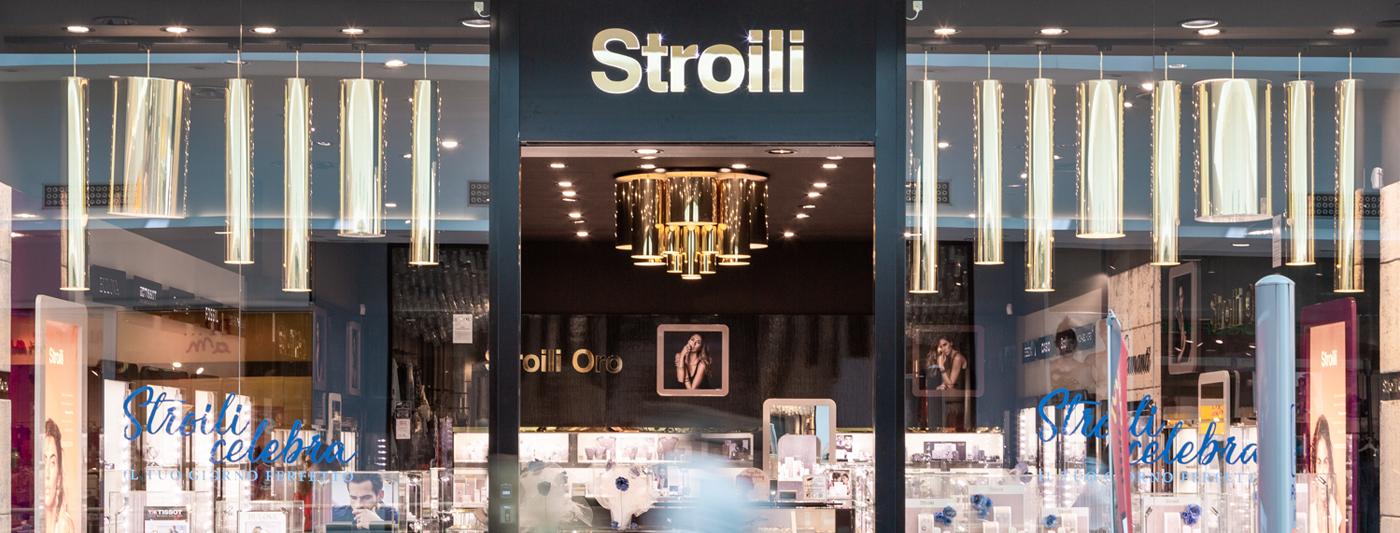 Centro Commerciale AlBattente TESTATA negozio Stroili