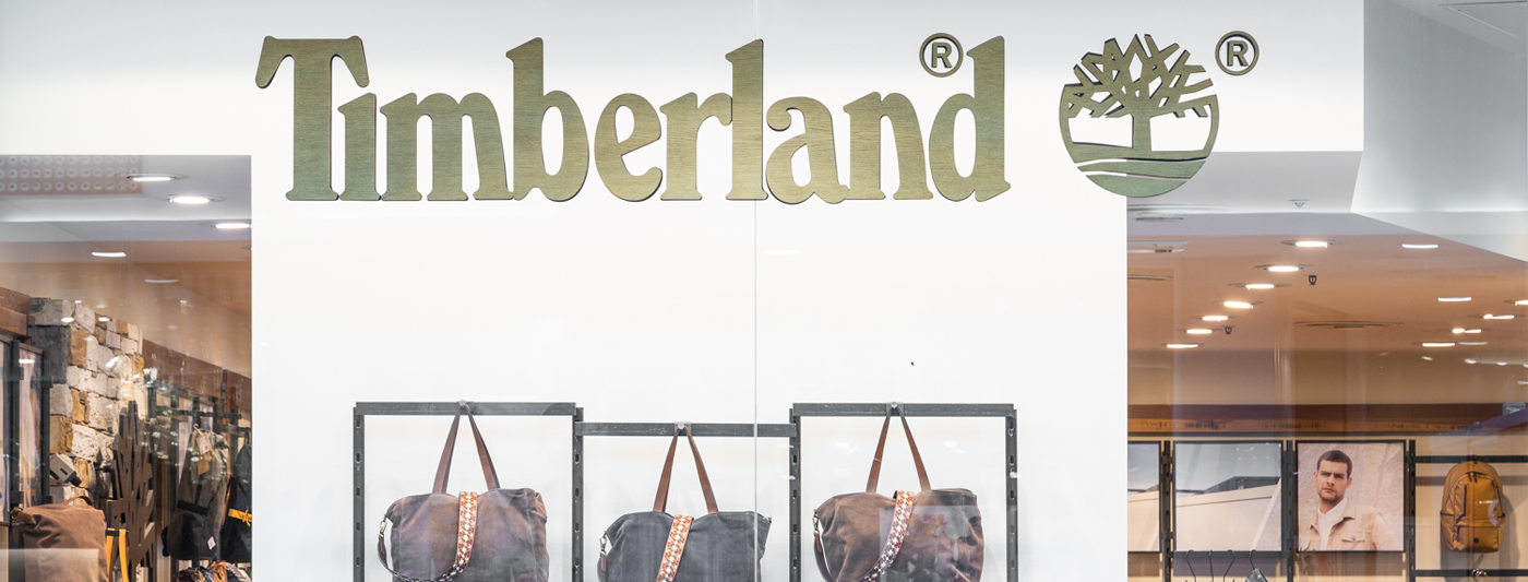 Centro Commerciale AlBattente TESTATA negozio Timberland