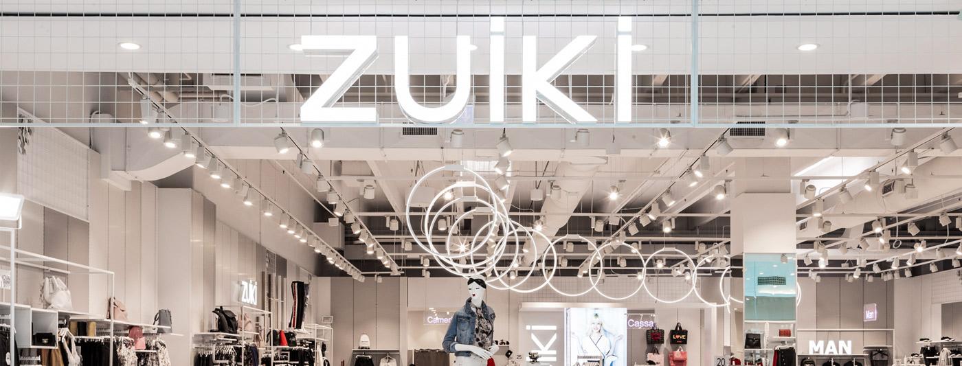 Centro Commerciale AlBattente TESTATA negozio Zuiki