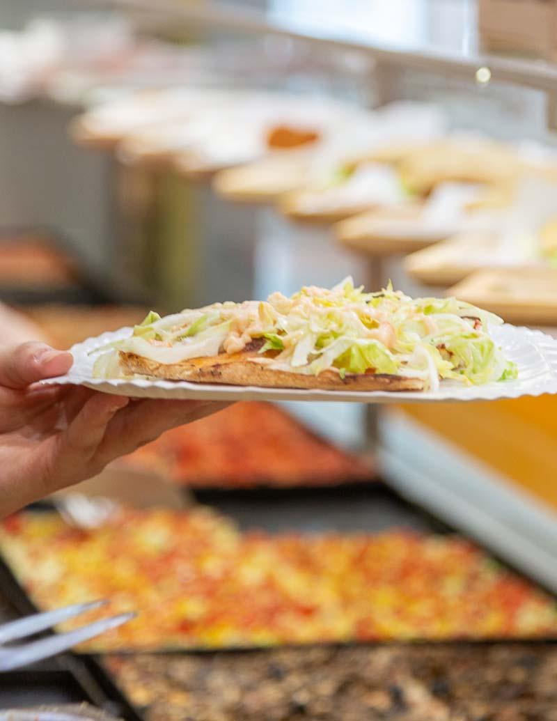Centro Commerciale AlBattente pizza al taglio